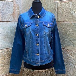 ISAAC MIZRAHI LIVE! Stunning denim jacket